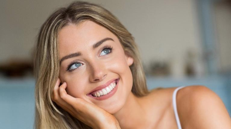 closeup of woman smiling | boise id dentist