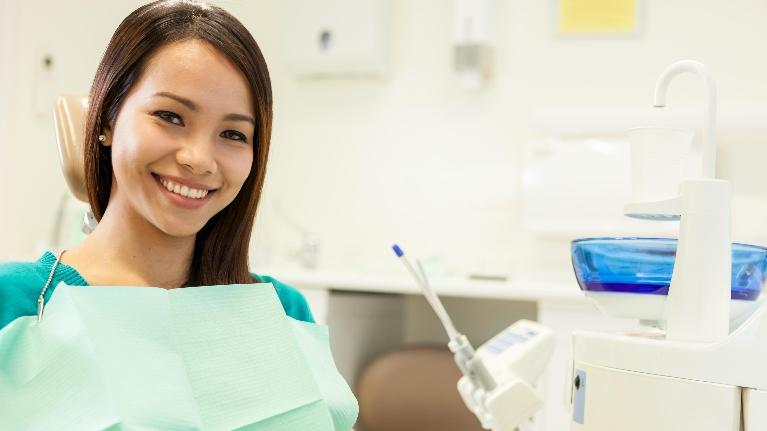 patient at appointment | dentist boise id