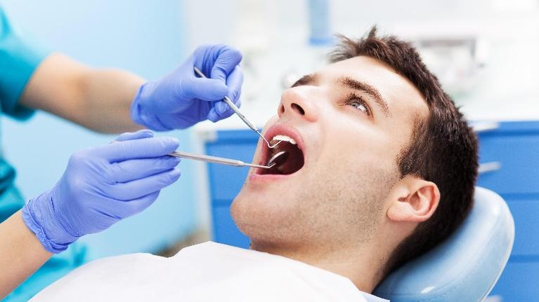 man at the dentist | boise id dentist