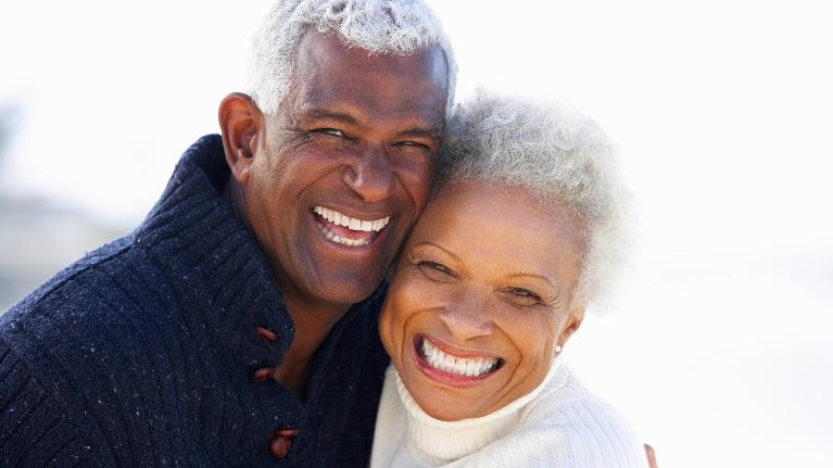 older couple | dental crown boise id